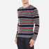 Carven Men's Striped Crew Neck Jumper - Multicolore: Image 2