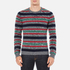 Carven Men's Striped Crew Neck Jumper - Multicolore: Image 1