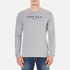 GANT Men's USA Long Sleeve T-Shirt - Grey Melange: Image 1