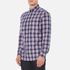 GANT Men's Dobby Plaid Shirt - Yale Blue: Image 2