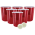 XXL Giant Beer Pong - Rood: Image 2