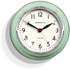 Newgate Cookhouse Wall Clock - Kettle Green: Image 1