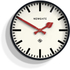 Newgate Putney Wall Clock - Black: Image 1