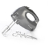 Salter EK1664 5 Speed Multi-Purpose Hand Mixer with Chrome Attachments - Silver (300W): Image 1