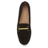 Lauren Ralph Lauren Women's Caliana Suede Loafers - Black: Image 3