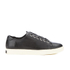 Lauren Ralph Lauren Women's Waverly Leather Trainers - Black: Image 1
