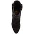 Ash Women's Joe Suede Heeled Boots - Black: Image 3