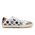 Ash Women's Majestic Star Print Low Top Trainers - Seta/Silver/Red: Image 1