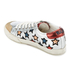 Ash Women's Majestic Star Print Low Top Trainers - Seta/Silver/Red: Image 3