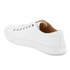Polo Ralph Lauren Men's Jermain Leather Cupsole Trainers - White: Image 4