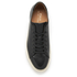 Polo Ralph Lauren Men's Jermain Leather Trainers - Black: Image 3