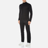 HUGO Men's San Gottardo Quarter Zip Jumper - Black: Image 4