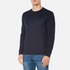 HUGO Men's Dapone Logo Crew Neck Sweatshirt - Navy: Image 2