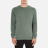 YMC Men's Almost Grown Sweatshirt - Green: Image 1