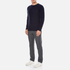 YMC Men's Suedehead Brushed Jumper - Navy: Image 4