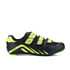 Force Road Cycling Shoes - Black/Fluro: Image 1