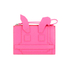 McQ Alexander McQueen Women's Electro Bunny Pouch - Pink: Image 1