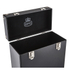 GPO Retro Portable Carry Case for LP Records and 12-Inch Vinyl - Black: Image 4
