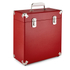GPO Retro Portable Carry Case for LP Records and 12-Inch Vinyl - Red: Image 1