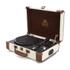 GPO Retro Ambassador Brief Case Turntable - Cream/Tan: Image 1
