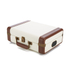 GPO Retro Ambassador Brief Case Turntable - Cream/Tan: Image 2
