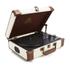 GPO Retro Ambassador Brief Case Turntable - Cream/Tan: Image 6