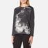 Barbour International Women's Visor Long Sleeve T-Shirt - Dark Grey: Image 2