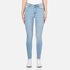 Cheap Monday Women's High Spray Jeans - Stone Bleach: Image 1