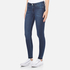 Cheap Monday Women's Mid Spray Fall Jeans - Blue: Image 2