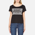 Cheap Monday Women's Had Stripe Logo T-Shirt - Black: Image 1