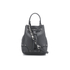 Furla Women's Stacy Rock Mini Drawstring Bag - Black: Image 1