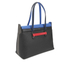 Furla Women's Supernova Large Tote Bag - Black/Blue: Image 3
