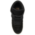 Ash Kids' Babe Suede Wedged Hi Top Trainers - Black: Image 3