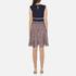 Diane von Furstenberg Women's Rosalie Dress - Midnight/Brown: Image 3