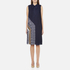 Diane von Furstenberg Women's Anabel Dress - Midnight/Canvas: Image 1