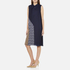 Diane von Furstenberg Women's Anabel Dress - Midnight/Canvas: Image 2