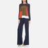 Diane von Furstenberg Women's Katara Trousers - Midnight: Image 4