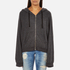 Wildfox Women's Take Me Somewhere Hideout Hoody - Clean Black/White Graphic: Image 1
