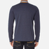 BOSS Green Men's Plisy Long Sleeve Polo Shirt - Blue: Image 3