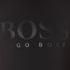 BOSS Green Men's Tee US Tonal Logo T-Shirt - Black: Image 5