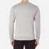 BOSS Green Men's Salbo Logo Sweatshirt - Grey: Image 3