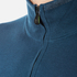 BOSS Green Men's Zime Quarter Zip Jumper - Blue: Image 6