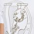 Versace Jeans Men's Chest Print T-Shirt - White: Image 5
