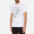 Versace Jeans Men's Chest Print T-Shirt - White: Image 2