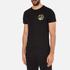 Versace Jeans Men's Small Print T-Shirt - Black: Image 2