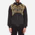 Versace Jeans Men's Printed Hooded Jacket - Black: Image 1