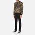 Versace Jeans Men's All Over Print Sweatshirt - Black: Image 4