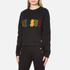 Versus Versace Women's Textured Logo Sweatshirt - Black: Image 2