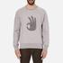 rag & bone Men's Okay Sweatshirt - Grey Heather: Image 1