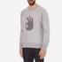 rag & bone Men's Okay Sweatshirt - Grey Heather: Image 2